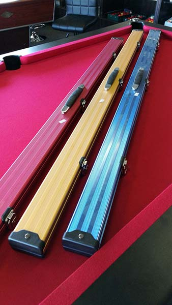 1 piece Aluminium Cue Case (2 cues)