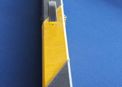 3/4 Blue/Yellow Cue Case