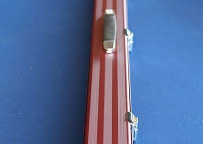 3/4 Aluminium Cue Case Red