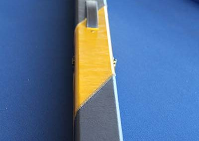 1 piece Blue/Yellow Cue Case (2 cues)