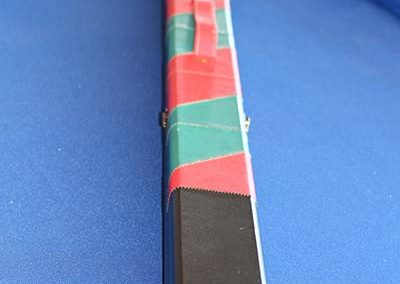 1 piece Red/Green Cue Case (2 cues)