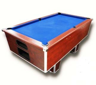 Non Coin Operated Pool Table - Royal Mahogony