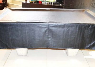 Table Cover PU Black 500 drop