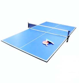 Table tennis pool table top