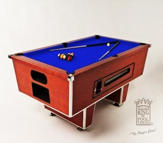 Pool table Coin Operated Cherry